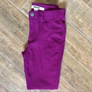 Girls skinny pants- DKNY size S (8)